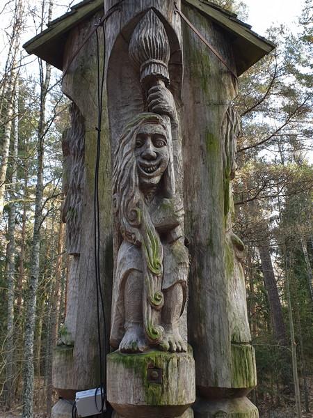 Collina delle Streghe Juodkranté Lituania 9