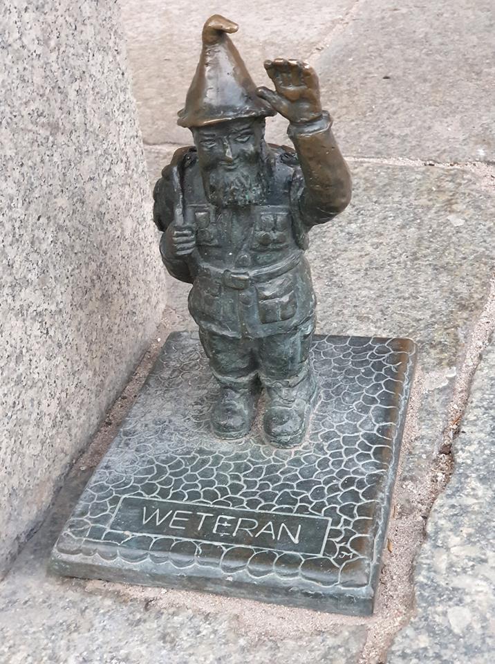 gnomo veterano wroclaw
