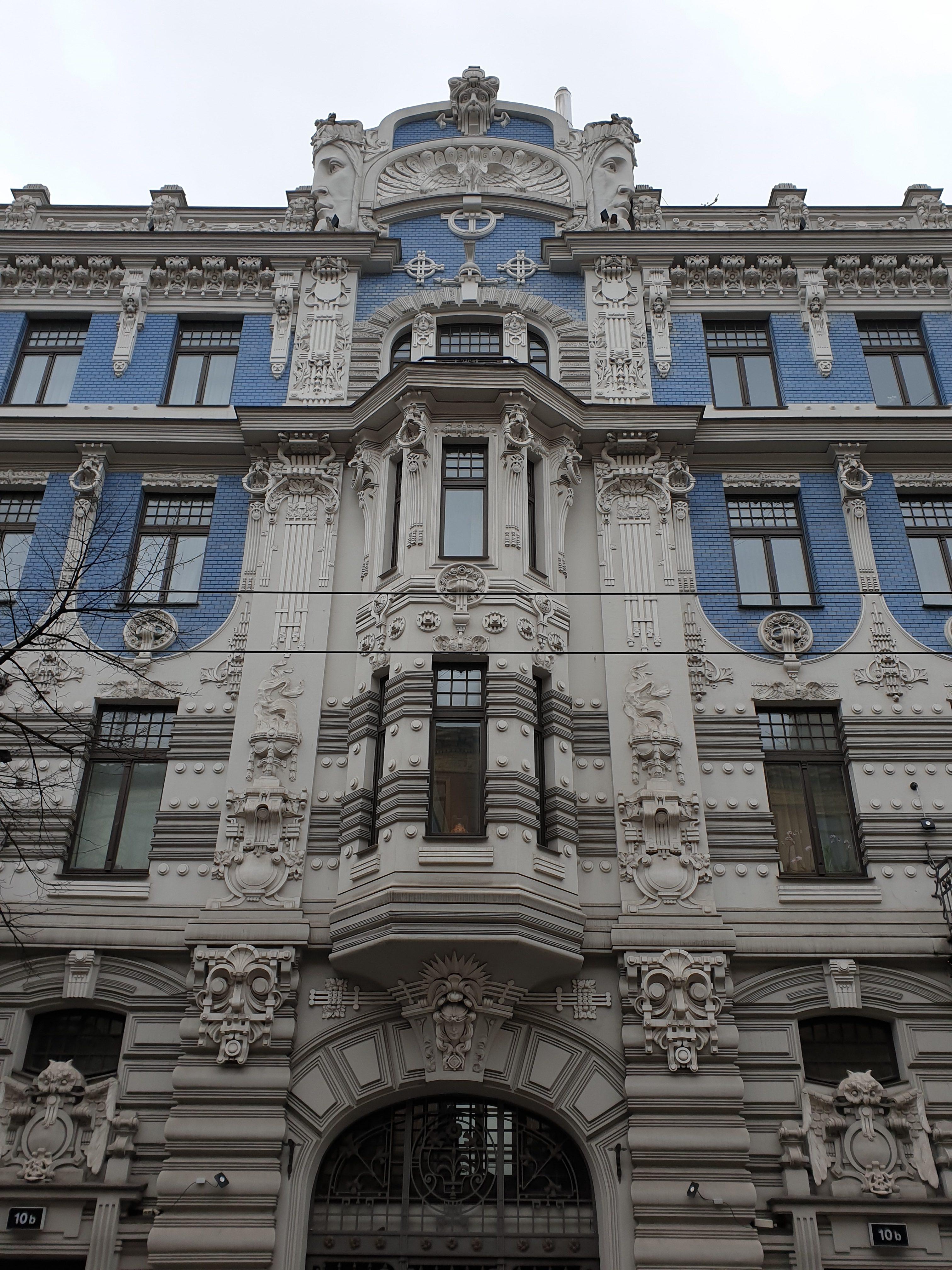 Esempio di Art Nouveau a Riga