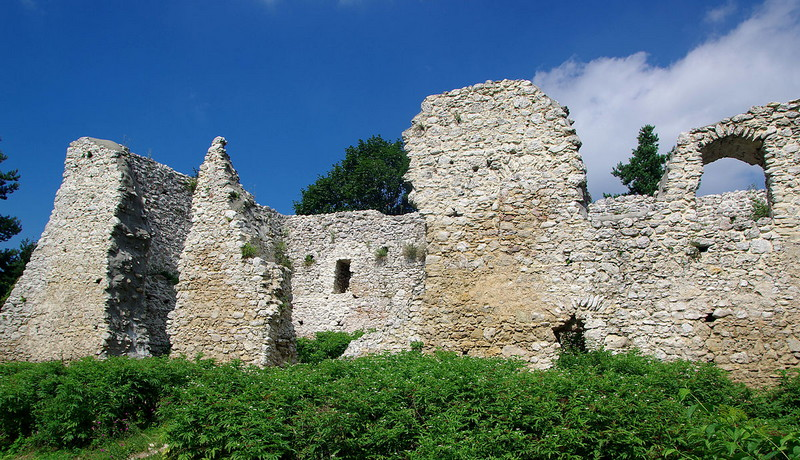 Castello di Bydlin Polonia 1