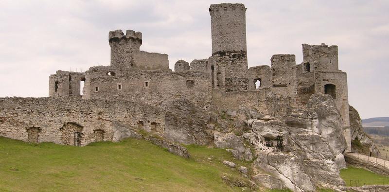 Castello di Ogrodzieniek Polonia 1