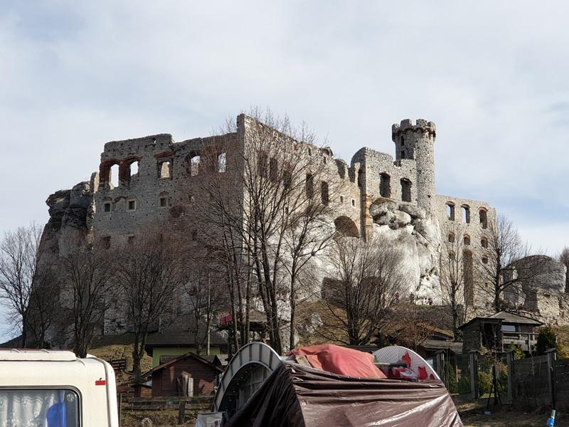 Castello di Ogrodzieniek Polonia 2