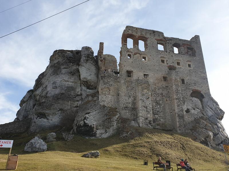 Castello di Ogrodzieniek Polonia 3