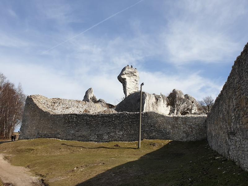Castello di Ogrodzieniek Polonia 5