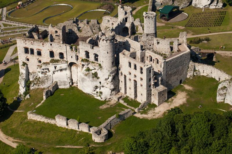 Castello di Ogrodzieniek Polonia 6