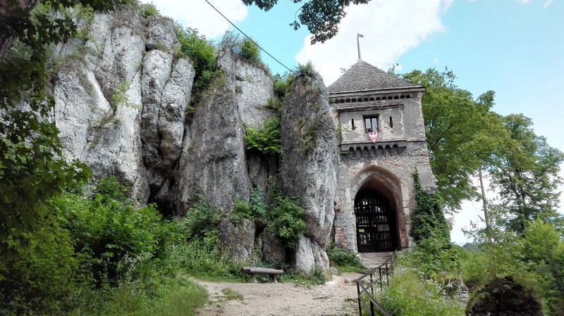 Castello di Ojcow Polonia 3
