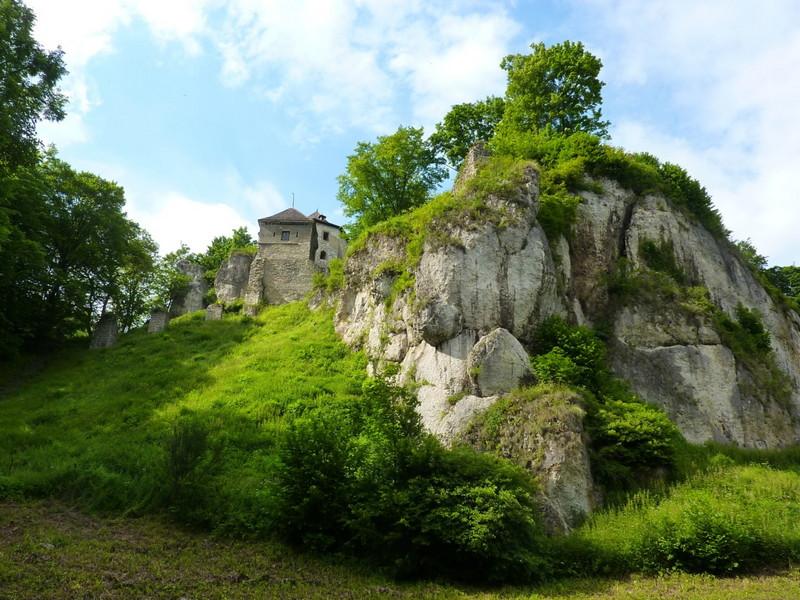 Castello di Ojcow Polonia 1