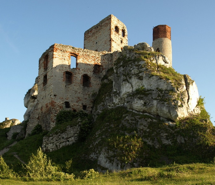 Castello di Olsztyn Polonia 1