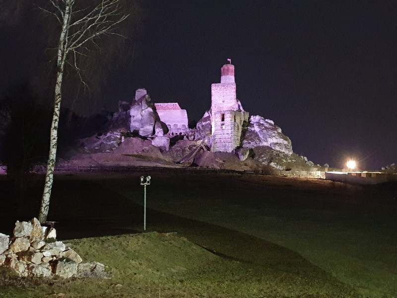 Castello di Olsztyn Polonia 2