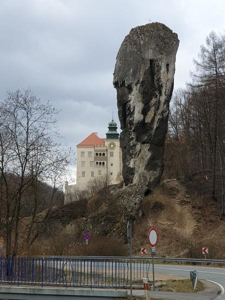 Castello di Pieskowa Skala Polonia la clava di Ercole