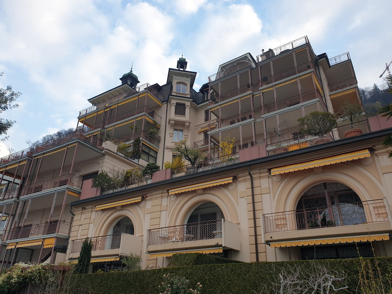 Freddie Mercury appartamento Montreux