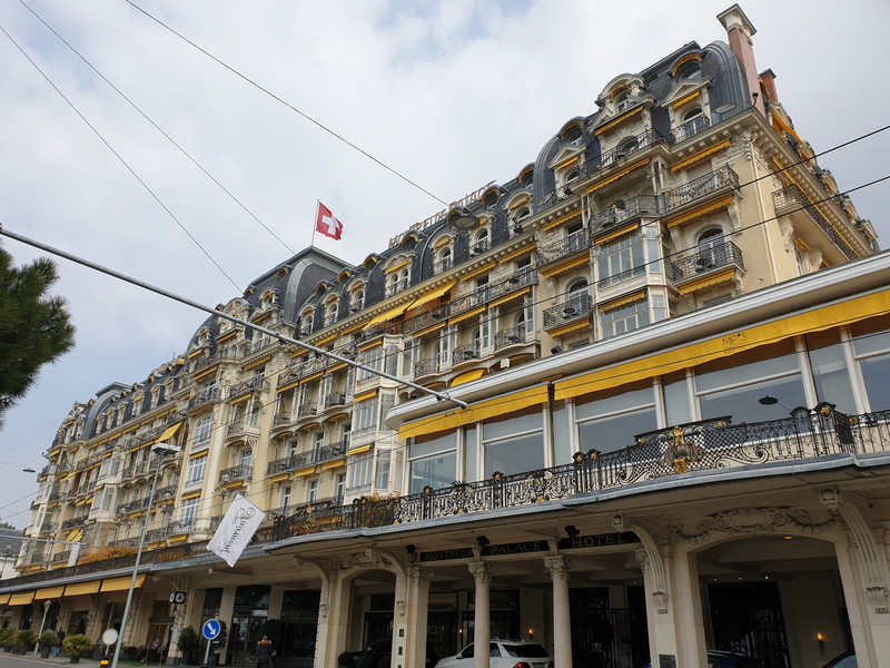 Hotel Palace Montreux