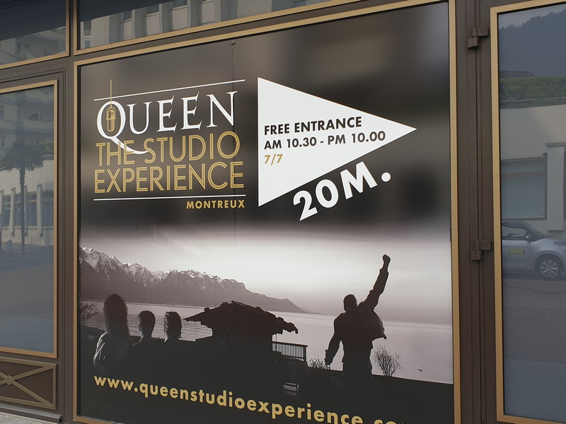 Queen The Studio Experience, l'ingresso