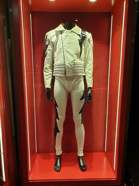 Costume di scena di Freddie Mercury. Rock in Rio