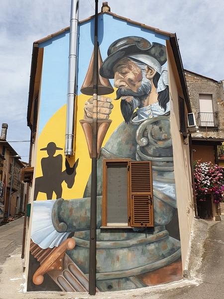 Don Chisciotte a Sant'Angelo di Roccalvecce