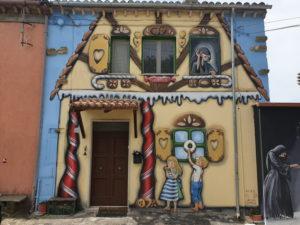la casetta di hansel e gretel a Sant'Angelo di Roccalvecce