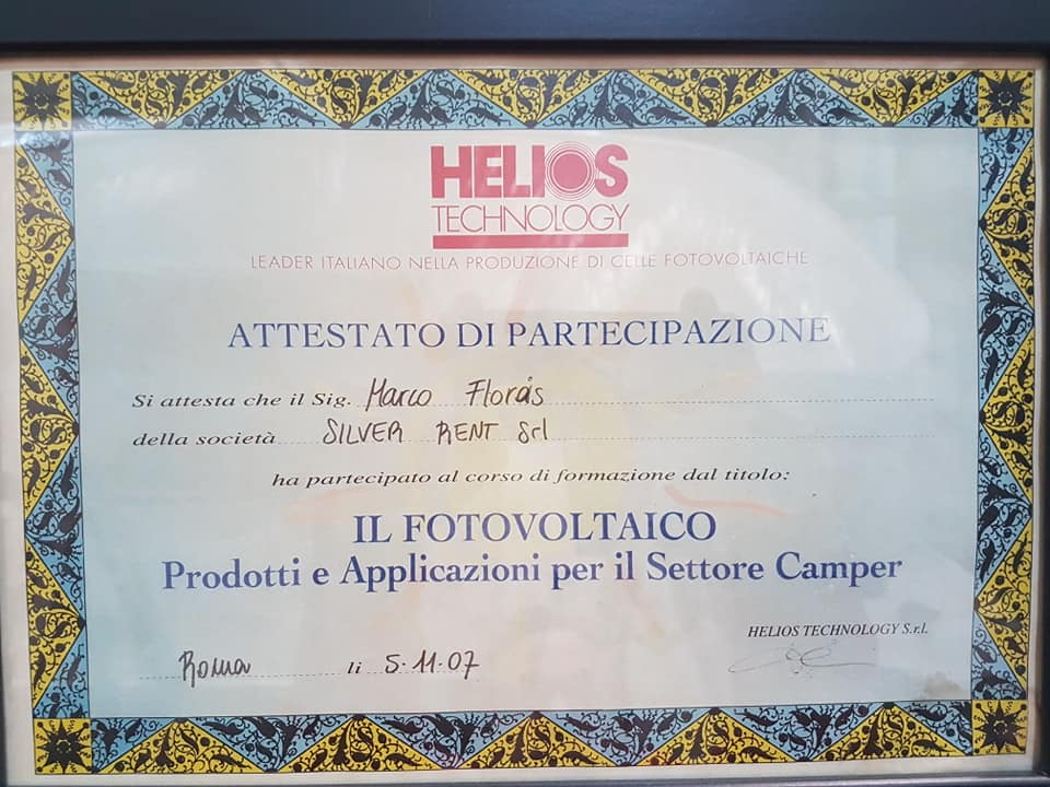 fma attestato helios